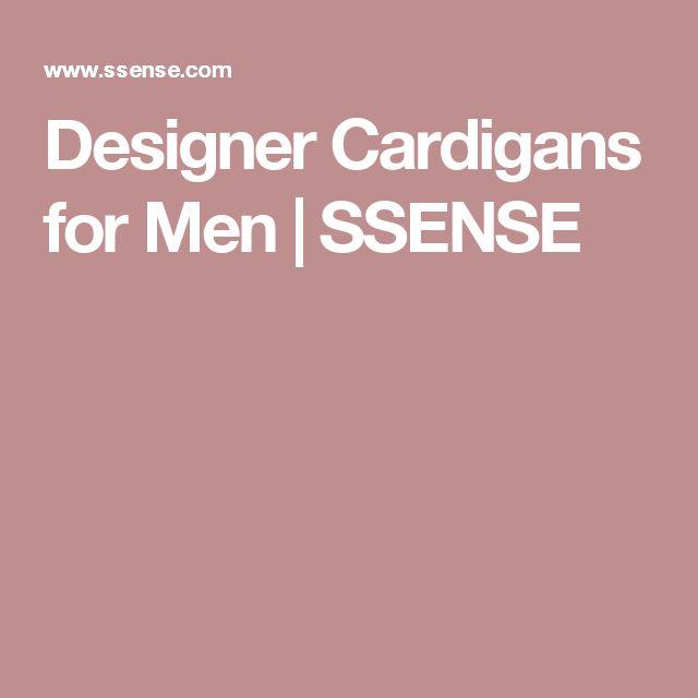 Designer Cardigans for Men | SSENSE