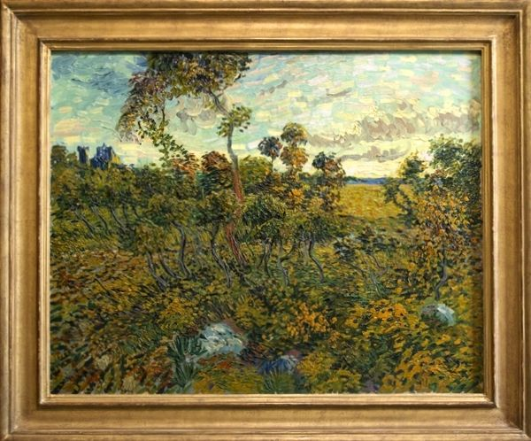 Lost Vincent Van Gogh Painting Sunset At Montmajour Found In A Norwegian Attic With Images Van Gogh Paintings Vincent Van Gogh