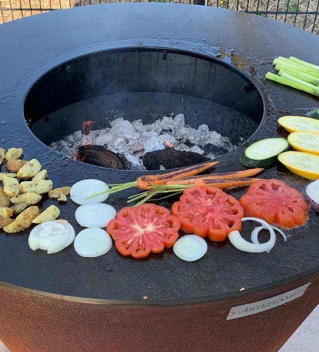 Le Brasero Arteflame Est Un Plancha Barbecue Pratique Et Un Objet