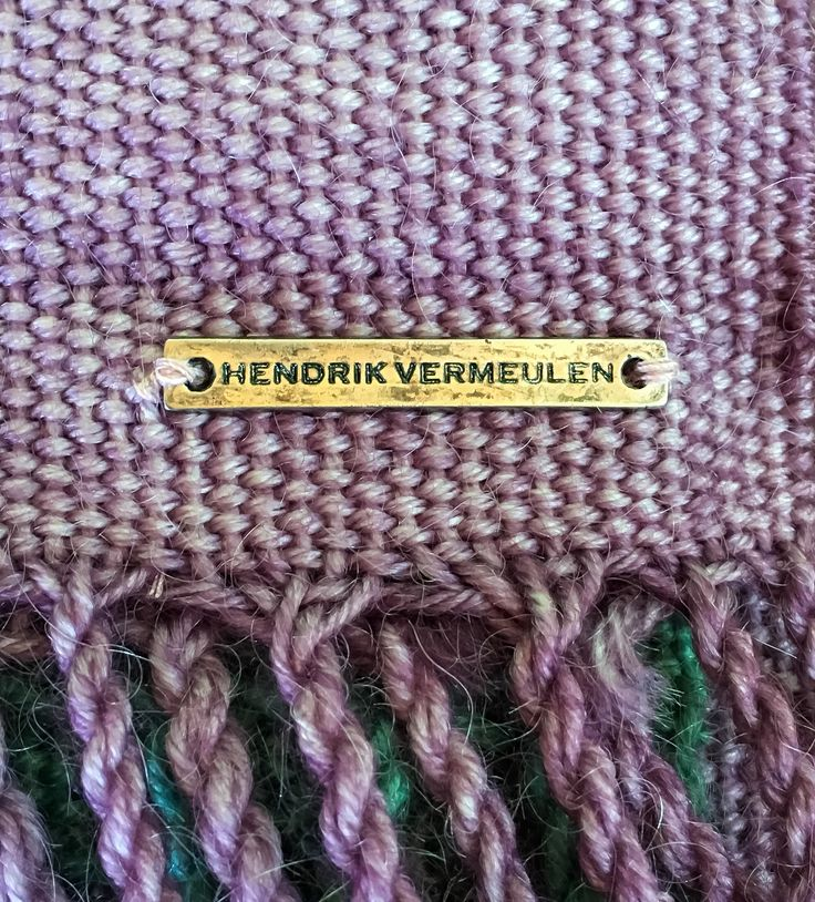 A Hendrik Vermeulen signature accessory, a 100% South African Made product that supports our local wool industry and farmers.