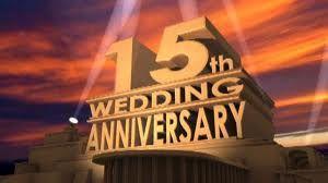 15th wedding anniversary - Google Search