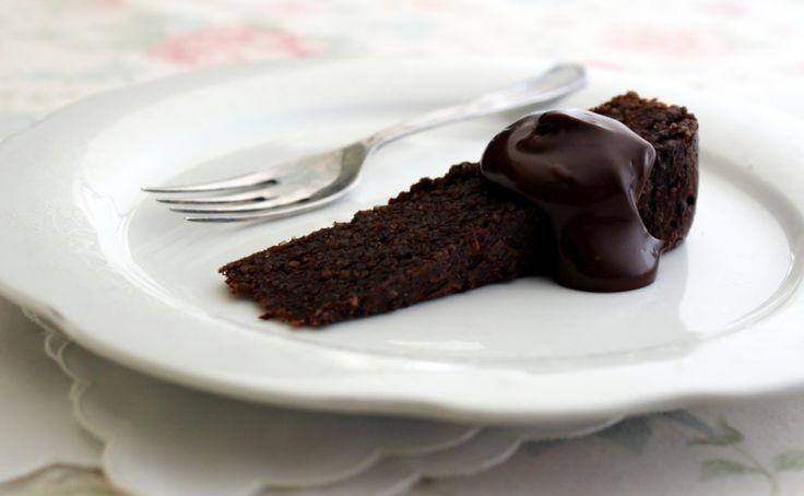 "Decadently Deceptive Chocolate Torte: ""A decadent but grain free, dairy free and low unrefined sugar torte. One for the dark chocolate lovers"""