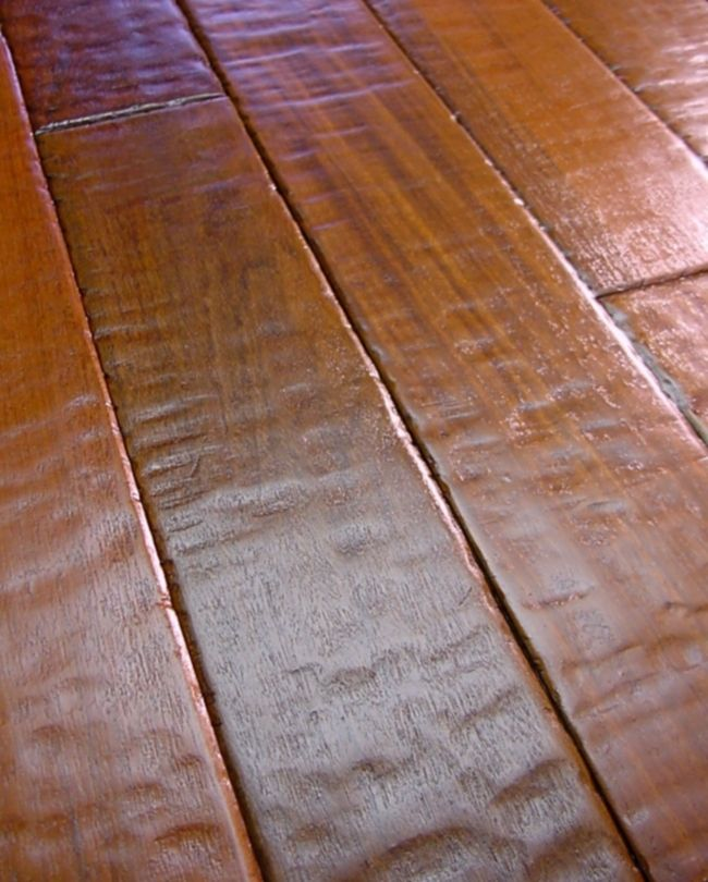 I plan on using a walnut mid tone handscrapped engineered for Hardwood floors throughout