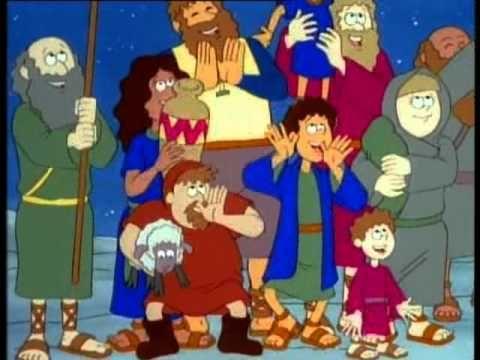 tekenfilm geboorte van jezus