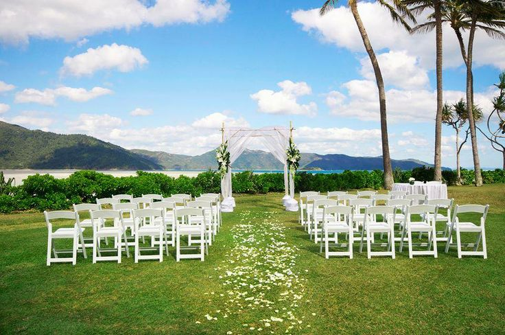 """Hand in hand, feet in the sand. One&Only Hayman Island is the perfect place to say """"I do."""""""