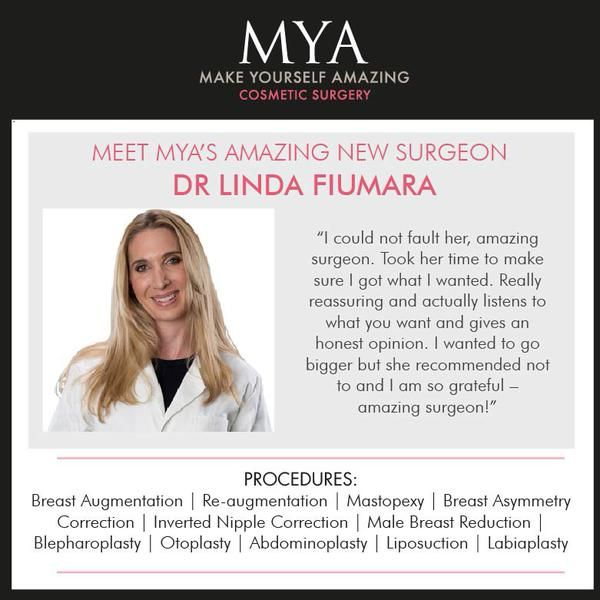 Dr Linda Fiumara recommends MACOM bras and breast bands to her patients. Find this amazing surgeon and MYA Cosmetic Surgery