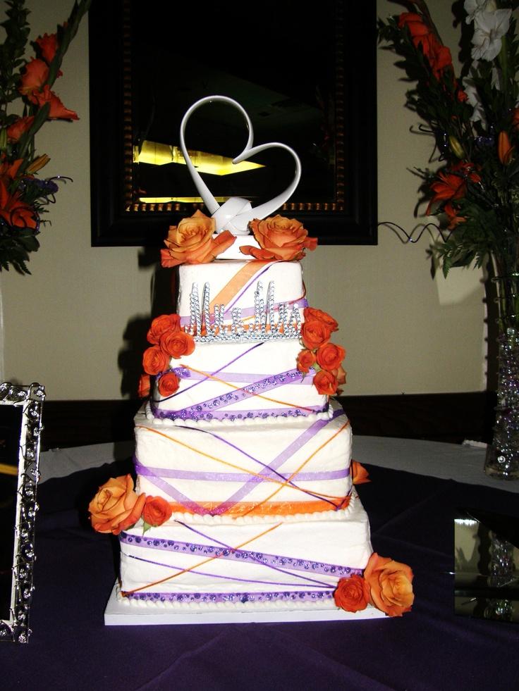 26 best Purple and orange wedding images on Pinterest | Purple ...