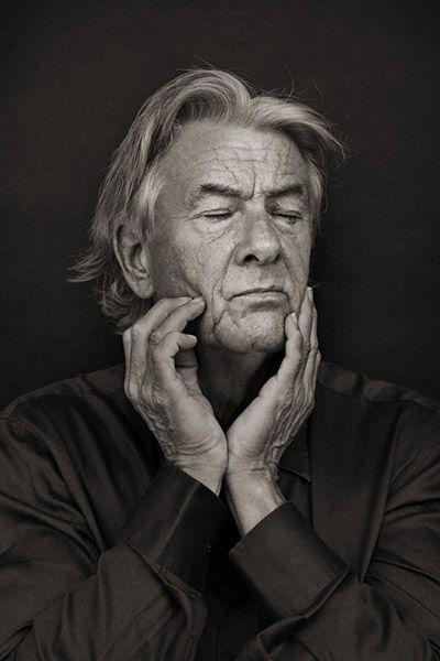 Paul Verhoeven (1938) - Dutch filmdirector, screenwriter and producer. Photo by Krijn van Noordwijk.