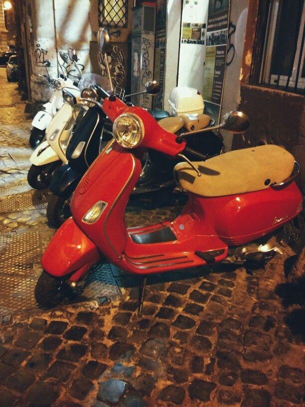 Vespa Roma Italy