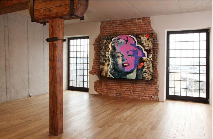 """"""" Marylin """"  200 x 160 cm"""