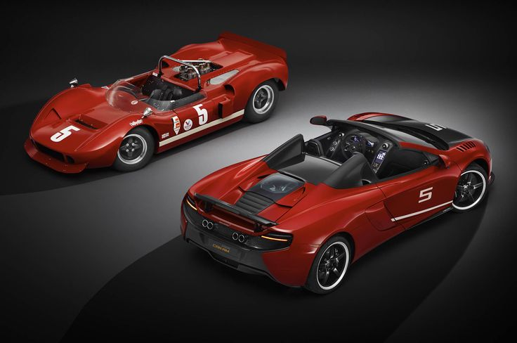 Limited-Edition McLaren 650S Can-Am Celebrates 50 Years of Race Series Gallery via MOTOR TREND News iPhone App