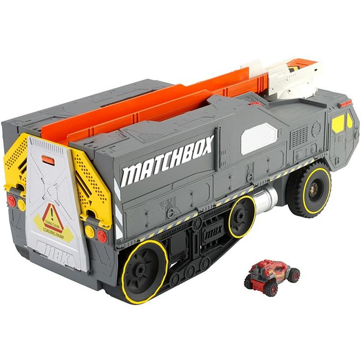 Check out the Matchbox Color Changers Meteor Hauler Play Set (DWR19) at the official Mattel Shop website. Explore the world of Matchbox today!