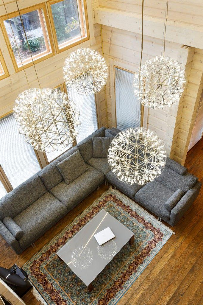 Интерьер загородного дома от студии Oneione