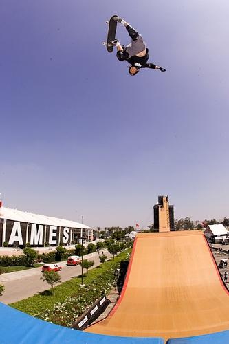 Skate Legend Tony Magnusson - Big Air, X Games 12