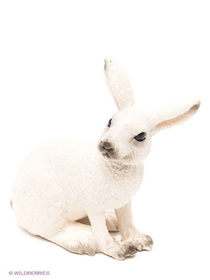 """Белый Заяц, серия """"Дикие животные"""" 14692"""