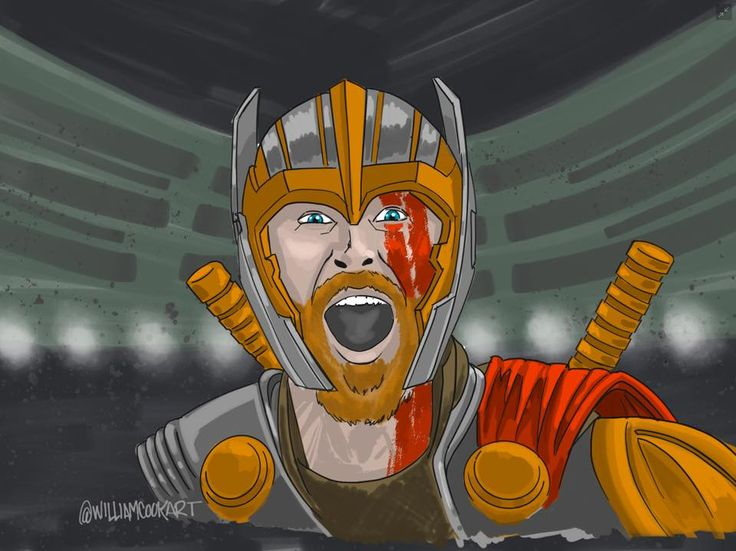 The hammer guy from the new godzilla. I dunno- haven't seen it yet. #thor #thorragnarok #ragnarok #marvel #avengers #hemsworth #Chrishemsworth #hulk #incrediblehulk #mjolnir #leftovember #artistsoninstagram #artoftheday #drawcember