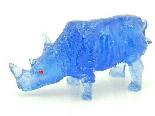 Buy-FengShui.com - Mini Blue Rhinocerous, $9.99 (http://buy-fengshui.com/mini-blue-rhinocerous/)