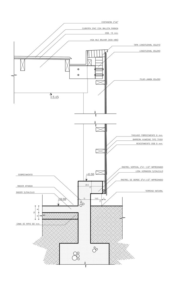 68 best detail drawing images on pinterest architecture details gallery of productive services morande winery martin hurtado arquitectos asociados 23