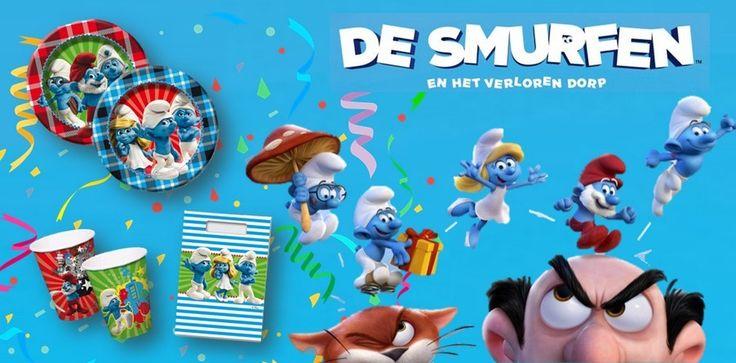 De Smurfen feestartikelen voor een verjaardag of feestje. Vanaf vrijdag te koop bij Feestwinkel Altijd Feest.