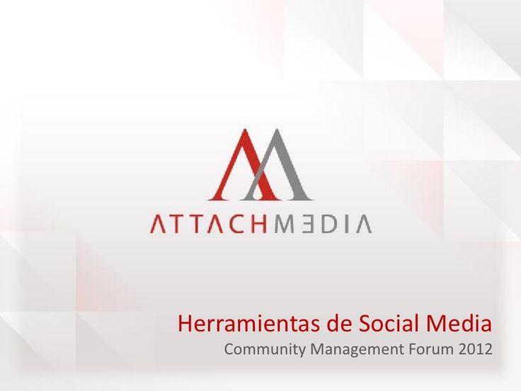 herramientas-de-medicin-en-social-media by Carlo Rodriguez via Slideshare