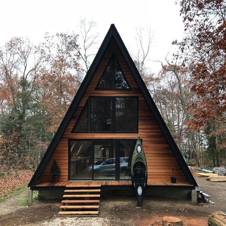 Pin By Gru On San Gru A Frame House Plans Triangle House Tiny House Cabin