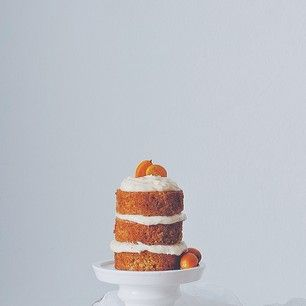 #carrotcake with citrus goat cheese frosting, ...