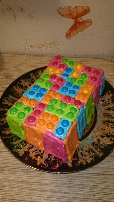 Lego Лего торт  Вечеринка