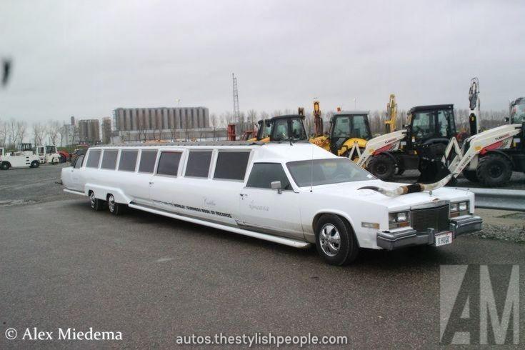 Luxurious From langste limousine ter wereld is een (afgrijselijke) Cadillac Eldorado