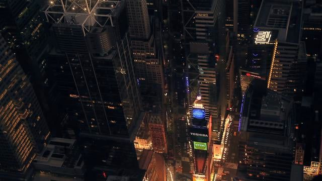 http://stockfootageaerial.com HD aerial video of new york. great for stock footage, by aerial dp isaac alongi aerial stock footage of nyc at night