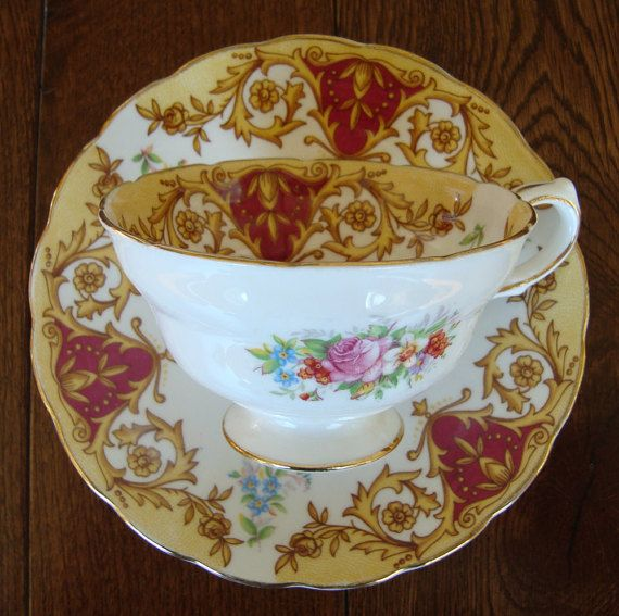 Grosvenor Quot Balmoral Quot Bone China Made In England Vintage