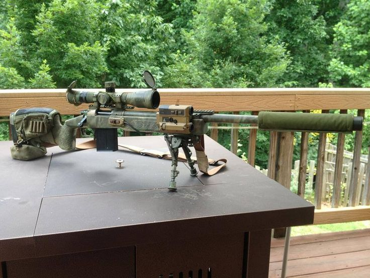 Nate's M-40 A5 sniper rifle, nicknamed Sierra.