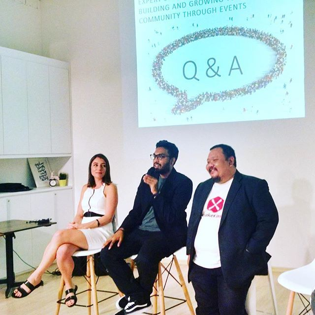 Last night I was speaking at the raiSE Expert Series about growing communities through events for the Social Enterprise community and it was such a privilege to have two amazing community builders, Stephanie Dickson and William Hooi beside me. I have tremendous respect for their work and what they have done for their consciousness and maker communities respectively. Thanks to all that came down to hear us. :) #peatix #peatixsg #raisesg #partofthegood #community #eventprofs #trehauscowork by…