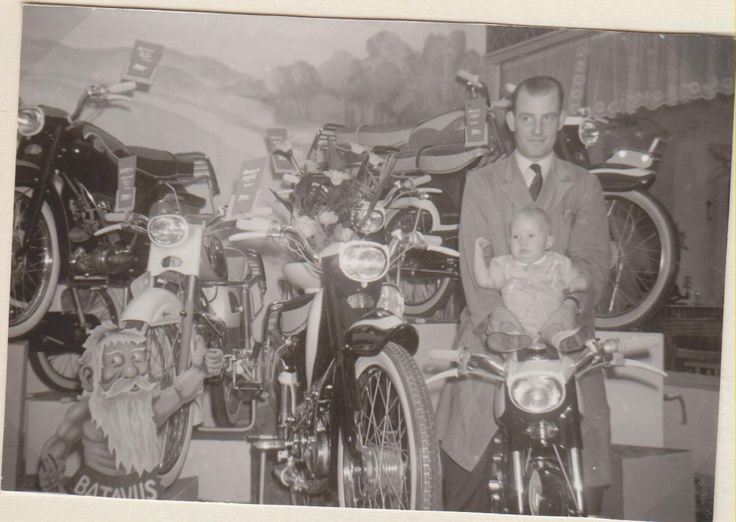 batavus brommers rond 1955 wim van vliet
