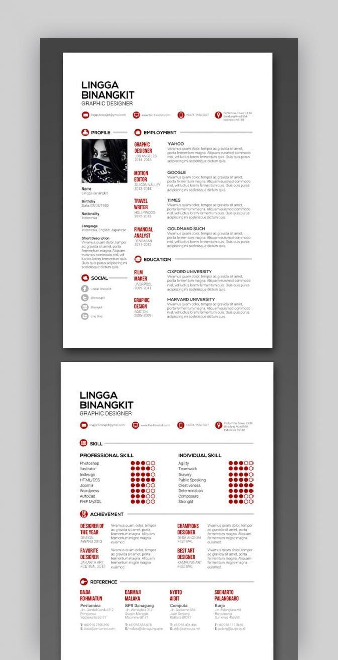 Indesign Resume Template Reddit Resume 2 Getjobb Indesign Resume Template Resume Template Resume Template Free