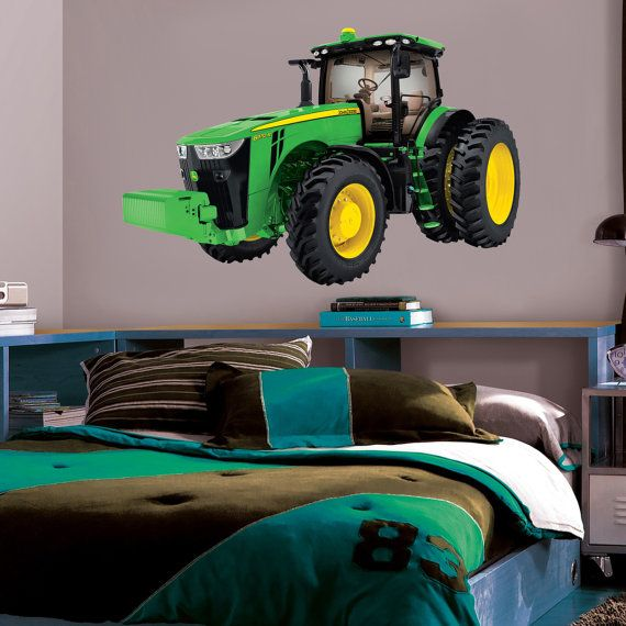 John Deere Tractor Decal WALL STICKER Home Decor By PrintaDream Part 77