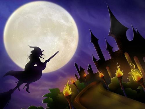Scary-Halloween-2012-Witch-HD-Wallpaper-2