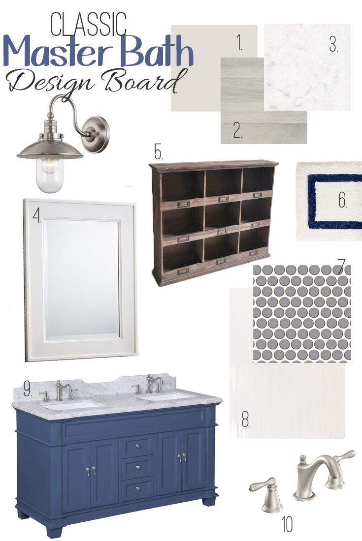 May Design Board Challenge Classic Blue Bathroom Bathrooms Decor Blue Bathrooms And Design