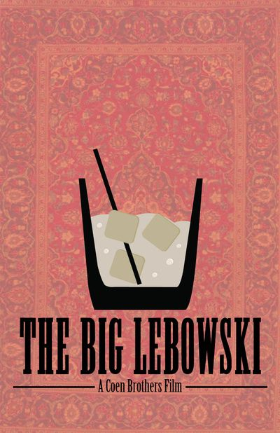 The Big Lebowski. Art Print
