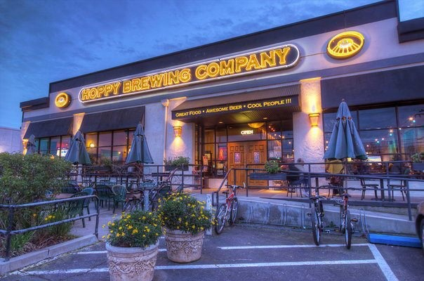 Good food and good beer!  Hoppy Brewing  6300 Folsom Blvd  Sacramento CA 95189  http://www.hoppy.com