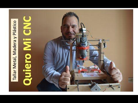 ✅ Quiero Mi CNC (Como se hace) Talla Metal, Madera, Plástico e impresos PCB #1 - YouTube