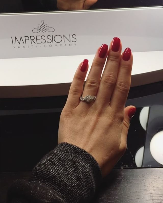 Jake Pitts' gf's engagement ring