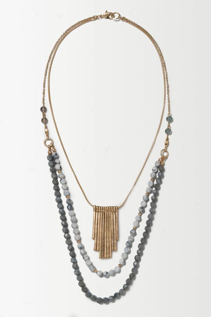 Nightfall Layer Necklace - anthropologie.eu