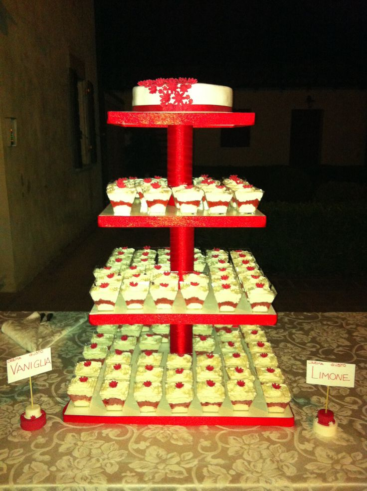 #torta #matrimonio #weddingcake #wedding #cake #chiryscakes #biancorosso #monoporzioni #cakedesign