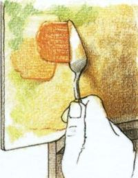 Живопись мастихином — Уроки рисования