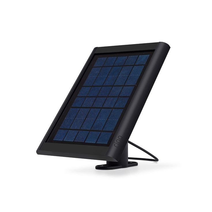 Ring Solar Panel for Stick Up Cam Security Camera, Black