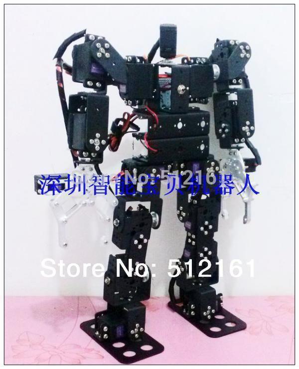 17 DOF biped walking humanoid robot dance 2013