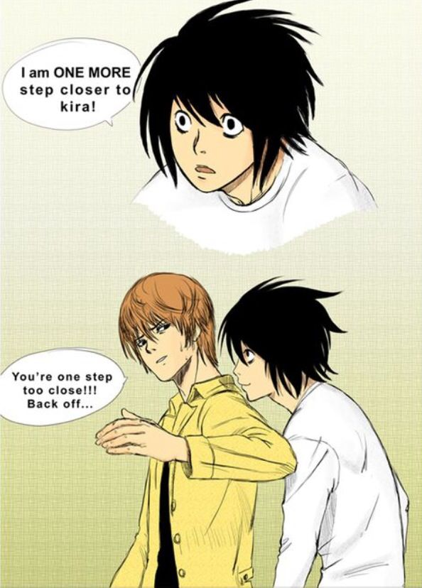 L and Light        _Death Note
