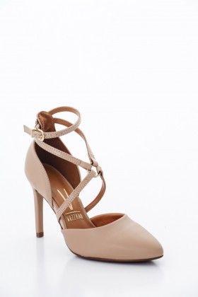 Beige Vizzano Női Magassarkú cipő