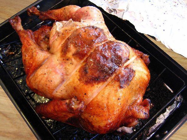 upside down  http://www.instructables.com/id/Upside-Down-Turkey-Recipe/#