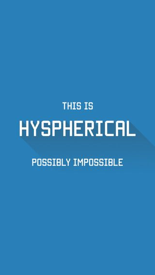 Hyspherical for iOS, a game that looks beautiful but may just bring out the ugliness in you!  Its rotating circles are unlike anything you've seen before and it's your job to make sure they don't crash –which sounds easy but gets progressively challenging.